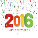 Happy New Year 2016. Royalty Free Stock Image
