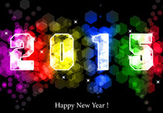 Happy New Year 2015. Happy New Year - 2015 colorful premise Stock Illustration