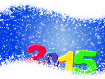 Happy New Year 2015. Happy New Year - 2015 colorful premise royalty free illustration