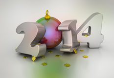 2014 Happy New Year Royalty Free Stock Image