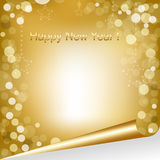 Happy New Year Composition. Vector Royalty Free Stock Photo