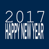 Happy new year concept. 2017 happy new year concept Royalty Free Stock Image