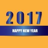 Happy new year concept. 2017 happy new year concept Stock Photos