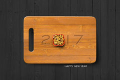 2017 Happy New Year Concept background 03 royalty free stock photo