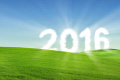Happy new year 2016 concept Royalty Free Stock Image