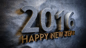 Happy new year 2016 Stock Photo