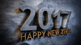 Happy new year 2017 Stock Image