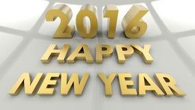 Happy New Year 2016 ! Stock Photos
