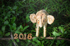 Happy New Year 2016 concept Stock Images