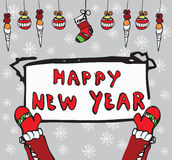Happy New Year concept Royalty Free Stock Photo
