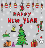Happy New Year concept Royalty Free Stock Photos