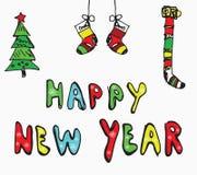 Happy New Year concept Stock Photos