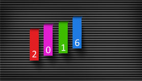 Happy New Year 2016 Concept II Stock Images