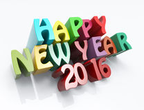Happy New Year 2016 concept Royalty Free Stock Photo