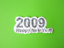 Happy new year congratulation Stock Images