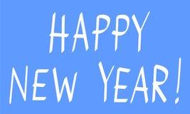 A Happy new year congratulation. Royalty Free Stock Photos