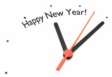 Happy new year countdown Royalty Free Stock Photo