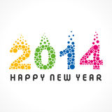 Happy new year 2014. Creative Happy new year 2014 background Vector Illustration
