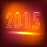 2015 Happy New Year. Creative Design royalty free illustration