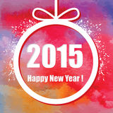 Happy New Year 2015. Stock Photos