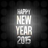 Happy New Year. Creative Symbol Background Design vector illustration