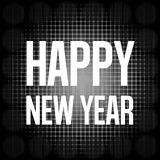 Happy New Year. Creative Symbol Background Design stock illustration