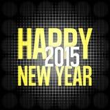 Happy New Year. Creative Symbol Background Design royalty free illustration