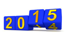 Happy New Year 2015. Royalty Free Stock Image