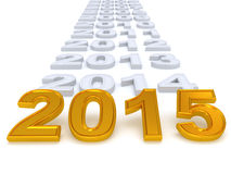 Happy New Year 2015. Royalty Free Stock Photography