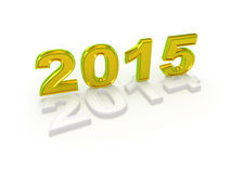 Happy New Year 2015. Royalty Free Stock Photos