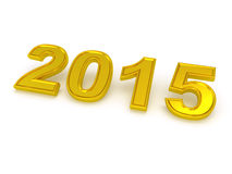 Happy New Year 2015. Stock Photography