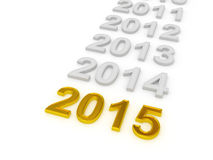 Happy New Year 2015. Royalty Free Stock Photos