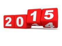 Happy New Year 2015. Stock Photo