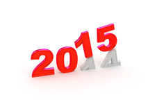 Happy New Year 2015. Royalty Free Stock Photo