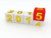 Happy New Year 2015. Royalty Free Stock Photo