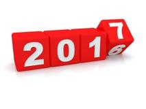 Happy New Year 2017. Royalty Free Stock Photo