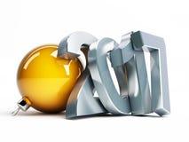 Happy new year 2017 3d Illustrations Stock Photos