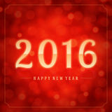 Happy New Year 2016 3d message vector Stock Photo