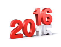 2016 Happy New Year Stock Photography