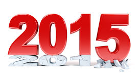 Happy New Year - 2015 Royalty Free Stock Image