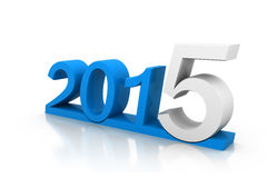 Happy new year 2015. 3d render of Happy new year 2015 Stock Photography