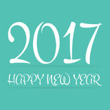 2017 Happy New Year day. 2017 Happy New Year day Stock Photography