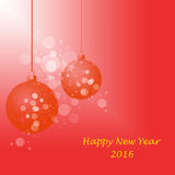 Happy New Year. Decoration background stock illustration