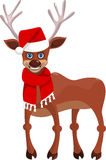 Happy new year deer Stock Images