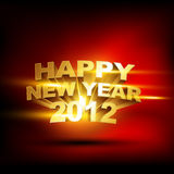 Happy new year design Royalty Free Stock Photos