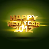 Happy new year design Royalty Free Stock Photo