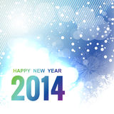 Happy new year design. Happy new year beautiful design Royalty Free Stock Images