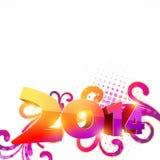 Happy new year design. Happy new year 2014 celebration vector illustration