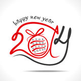 Happy new year. 2014 design with christmas ball Stock Photo