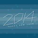 Happy new year design. Creative happy new year design background Stock Image